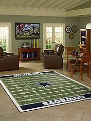 Milliken Carpet Dallas Cowboys NFL Team Home Field Area Rug by Milliken, 310 x 54, Multicolored
