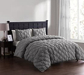 VCNY Atoll Circular Embossed Duvet Cover Set by VCNY Home Taupe, Size: Queen - AT0-3DV-QUEN-IN-TA