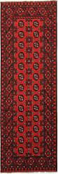 Nain Trading Oriental Afghan Akhche Rug 711x28 Runner Dark Brown/Rust (Wool, Afghanistan, Hand-Knotted)
