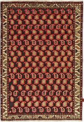 Nain Trading Authentic Hamadan Rug 67x47 Brown/Orange (Wool, Iran/Persia, Hand-Knotted)