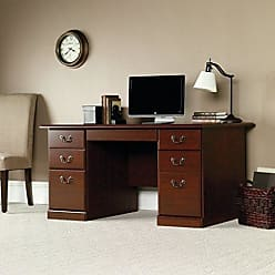 Sauder Sauder 109830 Heritage Hill Desk, L: 59.45 x W: 29.53 x H: 29.25, Classic Cherry finish