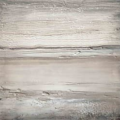 Louis Leonard Art Textured Natural Seascape II by Michelle Hinz Canvas Wall Art - MIH012-18X18