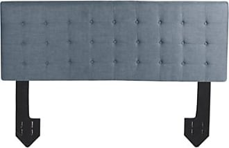 Ashley Furniture Callie Queen Channel Tufted Powered Headboard, Dark Gray