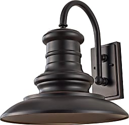 Feiss Redding Station 1 Bulb Restoration Bronze Outdoor Lighting