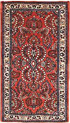 Nain Trading Sarouk Rug 42x24 Orange/Purple (Iran/Persia, Wool, Hand-Knotted)