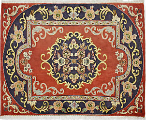 Nain Trading Oriental Keshan Rug 28x35 Beige/Orange (Wool, Iran/Persia, Hand-Knotted)