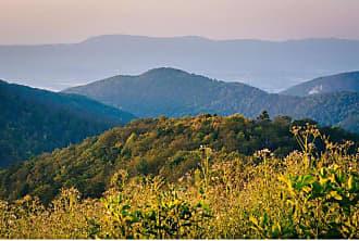 Noir Gallery Blue Ridge Mountain View in Shenandoah National Park on Aluminum - SHEN-03-MP-08