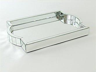 Wayborn 19.5 in. Beveled Mirrored Tray 770176