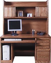 Forest Designs Customizable Contemporary 1062 Computer Desk - 1062-B