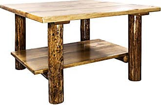Montana Woodworks MWGCCOCT Glacier Country Collection Cocktail Table with Shelf