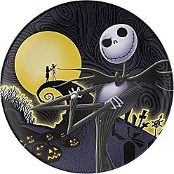 Zak designs NBCD-0351 Nightmare Before Christmas Kids Plates, 10.06 inch
