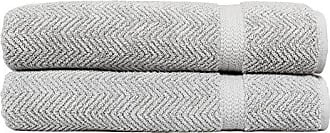 Linum Home Textiles Herringbone 100% Turkish Cotton Bath Sheet (Set of 2)