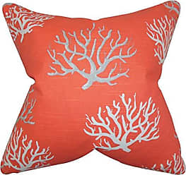 The Pillow Collection Priya Floral Bedding Sham Poppy Red King//20 x 36