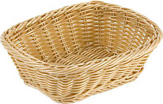 Paderno World Cuisine 9-Inch by 7-1/2-Inch Rectangular Polyrattan Bread Basket