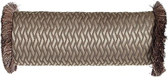 Dian Austin Couture Home Le Plaza Woven-Pattern Neck Roll Pillow, 21 x 8