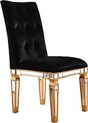 Elegant Lighting Chair GC MIRROR 25-3/4x19-1/4x39-1/2