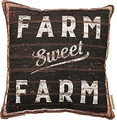 Primitives By Kathy Decorative Sweet Farm Throw Pillow, 16-Inch Square (30352)