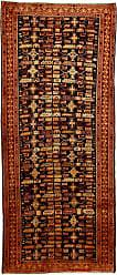 Nain Trading Handknotted Ardebil Rug 98x42 Runner Dark Grey/Brown (Wool, Iran/Persia)