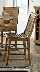 Progressive Furniture Willow Counter Height Dining Chair, Distressed Pine