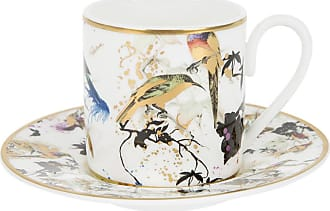 Roberto Cavalli Garden Birds Espresso Cup & Saucer