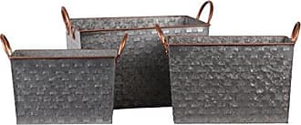 Urban Trends Collection Basket, Gray