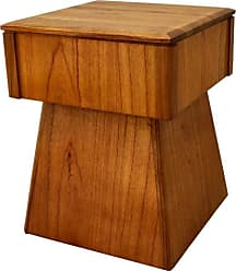 222 Fifth Arnold Square Accent Stool