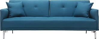 Canapés en Bleu - 1269 produits - Soldes : jusqu\'\'à −49% | Stylight