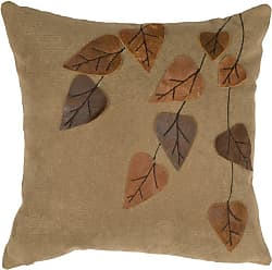 Wooded River Autumn Leaf WD80400 Decorative Pillow - WD80400
