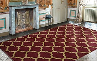 Ottomanson Royal Collection Area Rug, 710X910, Dark Red