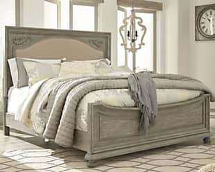 Ashley Furniture Marleny Queen Panel Bed, Gray/Whitewash