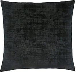 Monarch Specialties Brushed Velvet 18 x 18 Black 1 Piece Pillow