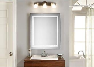 Elegant Furniture & Lighting Square LED Wall Mirror 5000K - MRE-6010