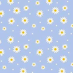 Lar Adesivos Papel de Parede Infantil Floral Adesivo Flores Menina N4197