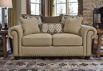 Ashley Furniture Ilena Loveseat, Sandstone