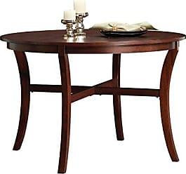 Sauder Sauder 418848 Palladia Round Dinette Table, L: 45.98 x W: 45.98 x H: 30.00, Select Cherry finish