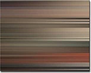 Ready2HangArt Ready2hangart Blur Stripes XXXII Canvas Wall Art, 12 x 16