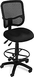 OFM 130-DK-A03 Mesh Comfort Series Ergonomic Task Chair with Drafting Kit