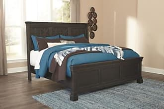 Ashley Furniture Tyler Creek California King Panel Bed, Black