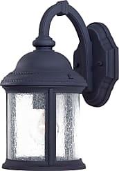 Minka Lavery Lighting 9010-66 1 Light Wall Mount in Black finish