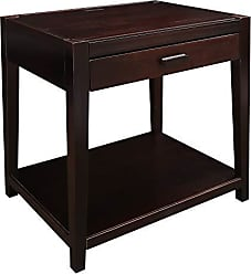 Yu Shan Casual Home 649-23 Notre Dame Nightstand with USB Ports-Espresso