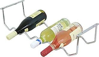 Oenophilia 10098 Milano Wine Rack 6 Bottle Silver