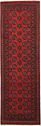 Nain Trading Afghan Akhche Rug 711x27 Runner Dark Brown/Rust (Afghanistan, Hand-Knotted, Wool)