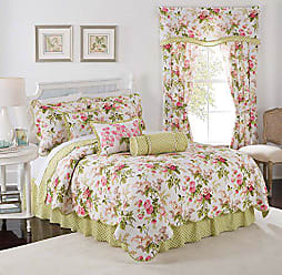 Ellery Homestyles WAVERLY Emmas Garden Quilt Set, 68x86, Blossom