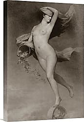 Bentley Global Arts Global Gallery Budget GCS-379406-22-142 Vintage Goddess Nude Gallery Wrap Giclee on Canvas Wall Art Print