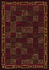 Milliken Carpet Milliken Innovations Collection Kirala 109 x 132 Dark Chocolate Brick