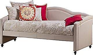 Hillsdale Furniture 1119DB Jasmine Daybed, 39.75 H x 83.5 W x 42.5 D, Linen Stone