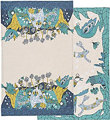 Danica Studio Kitchen Towels, Set of Two, Birdland