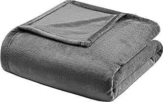 Madison Park Microlight Luxury Blanket Ivory 10890 King Size  Premium Soft Cozy Microlight For Bed Coach or Sofa