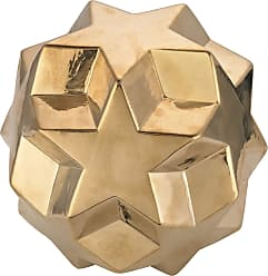 Dimond Home Ceramic Gold Table Top Star Ball