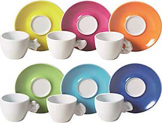0a817f32b6b5 Enjoy Home Koffiemok met schotel 6 stuks set Vanity